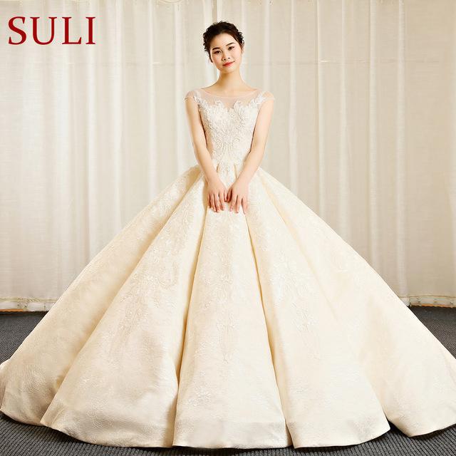 wedding evening gown elegant sl 156 vintage bohemian bridal dresses ball gown wedding dresses