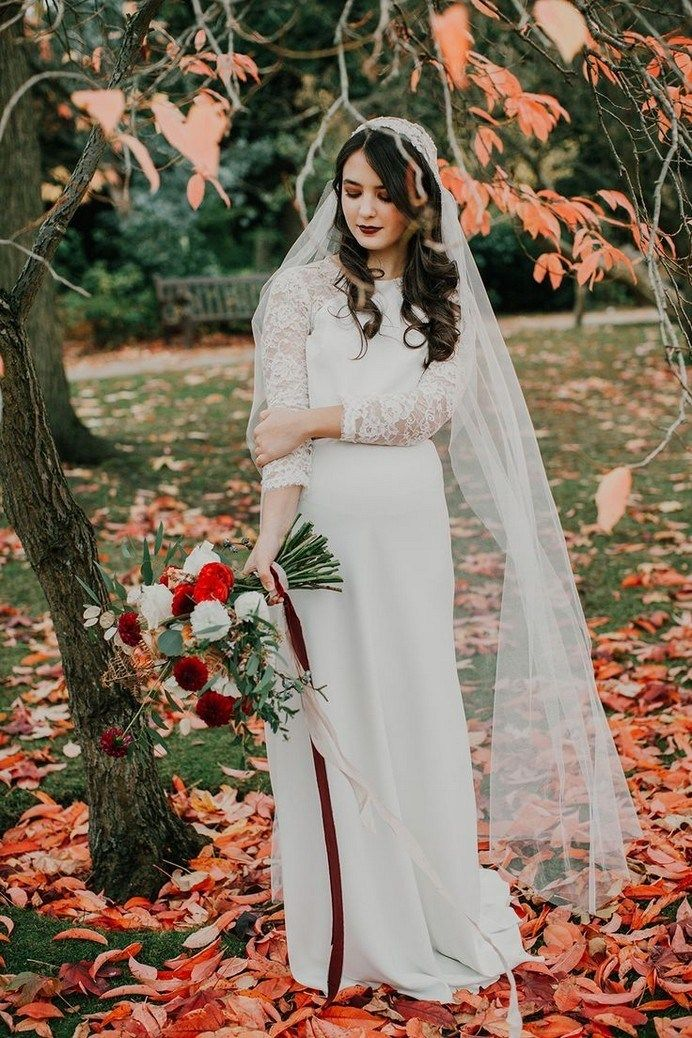 Fall Outdoor Wedding Dresses Lovely ✓ 30 Reasons to Love An Outdoor Fall Wedding