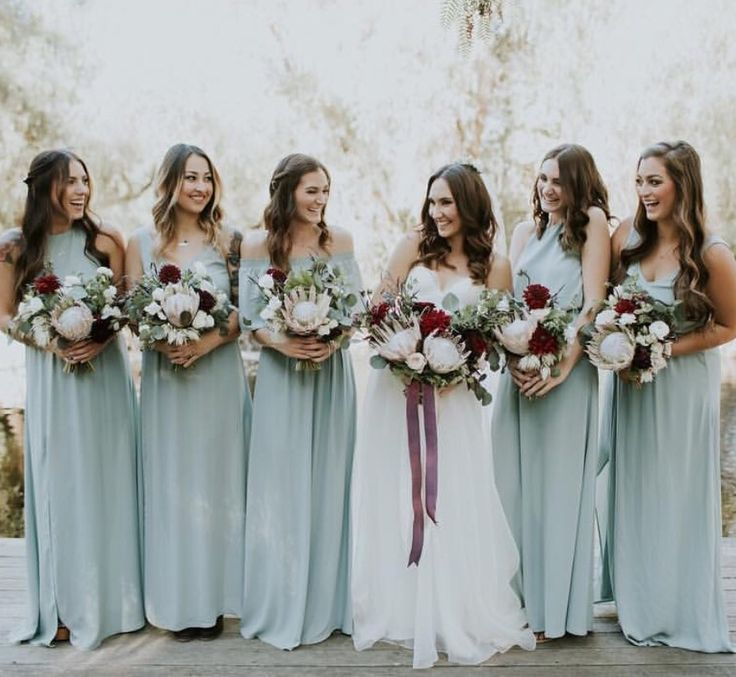 Fall Wedding Colors Bridesmaid Dresses Lovely Dresses and Flowers Winter Wedding Color Scheme