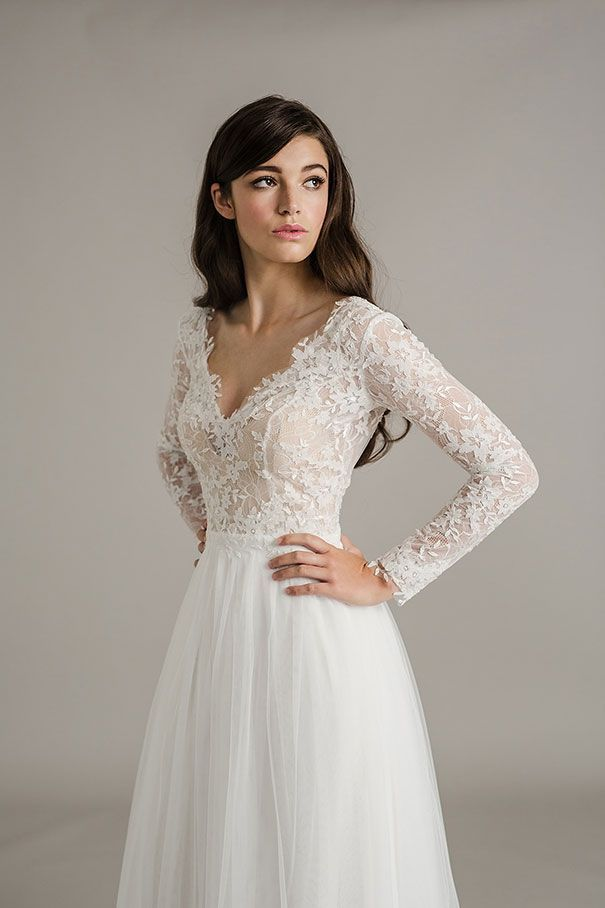 Fall Wedding Dresses 2017 Fresh Long Sleeve Lace Wedding Dress I D O\