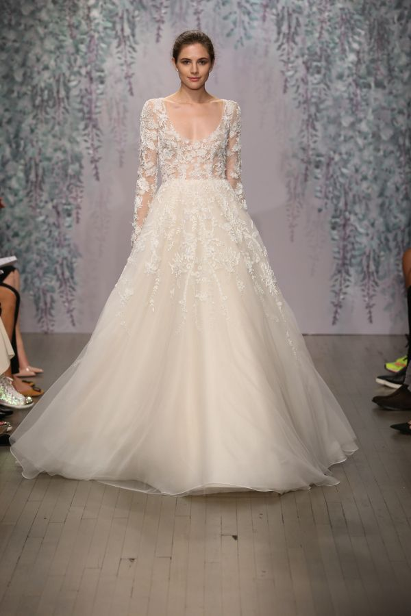 Fall Wedding Dresses 2017 Inspirational Wedding Dress Trends to Expect at Bridal Week Fall 2017