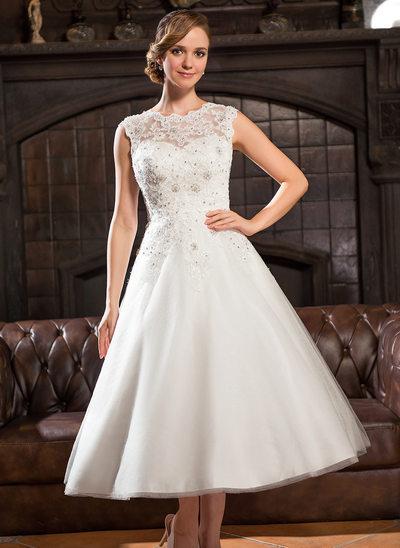 Fall Wedding Dresses 2017 Lovely Tea Length Wedding Dresses All Sizes & Styles
