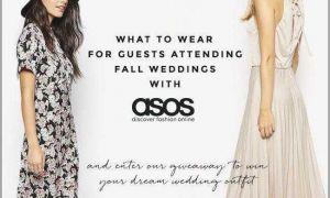 24 Unique Fall Wedding Dresses Guests