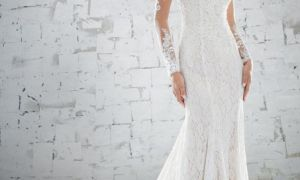 21 Fresh Fit and Flare Wedding Dress with Sleeves