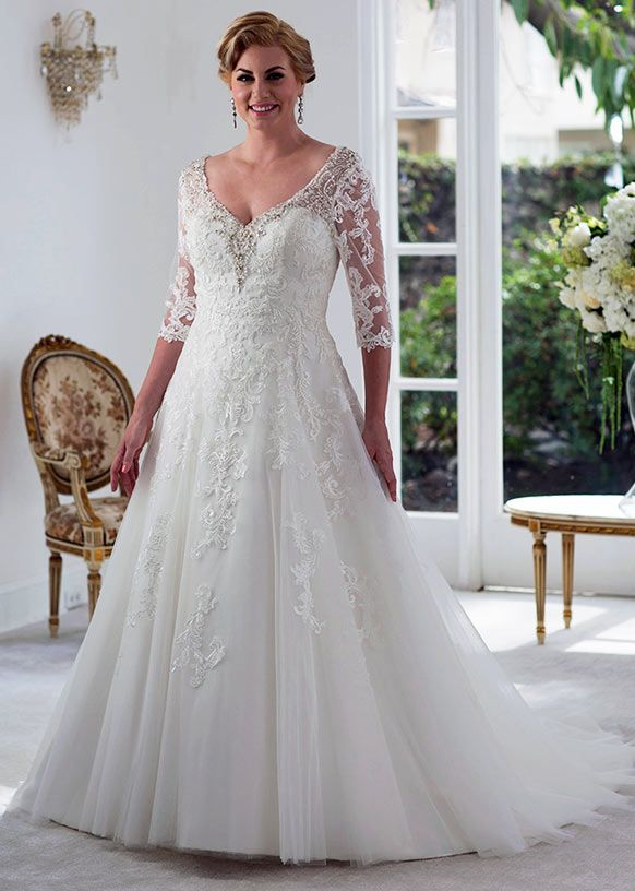Flattering Wedding Dresses for Plus Size Beautiful Plus Wedding Gown Fresh 117 Best Plus Size Wedding Dresses
