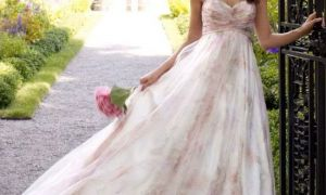 29 Beautiful Floral Wedding Gown