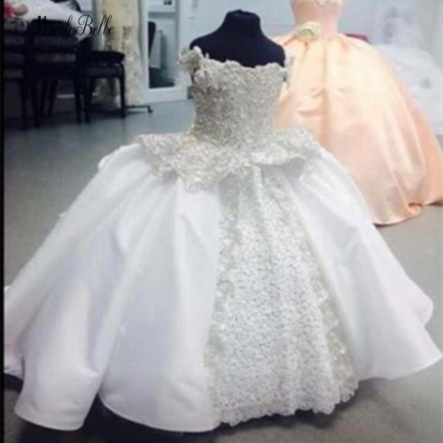 modabelle White Flower Girls Dresses Vestido Daminha De Honra Appliques Lace First munion Dresses For Girls 640x640