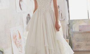 23 Unique Flowy Wedding Gown