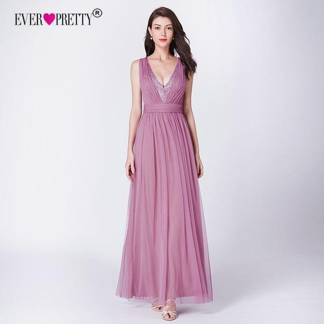 natna shop clothes dark pink 14 long prom dresses 2019 ep od elegant a line v neck tulle wedding party gowns with sequin vestidos de fiesta elegantes largos 1024x1024