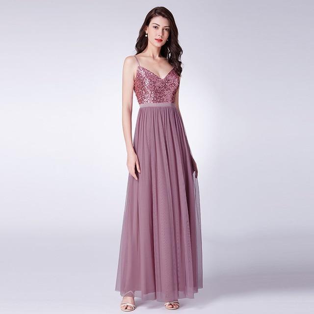 natna shop clothes ep od 14 long prom dresses 2019 ep od elegant a line v neck tulle wedding party gowns with sequin vestidos de fiesta elegantes largos 1024x1024