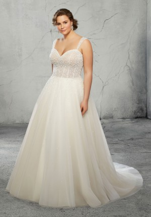 mori lee 3270 ruby detachable strap plus size bridal gown 01 650