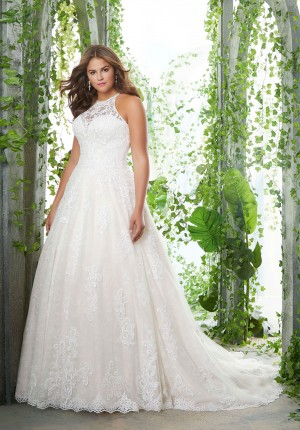 mori lee 3256 perla illusion neckline plus size bridal dress 01 578