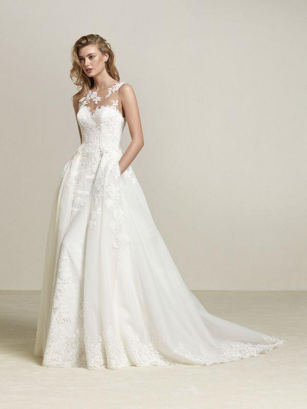 zobaczcie przepiac299kne suknie ac29blubne od pronovias na 2018 rok foto against cozy wedding dress ornaments