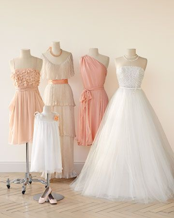 Garden Party Dresses Wedding Elegant Peaches and Cream is A Wedding Color Bination that is