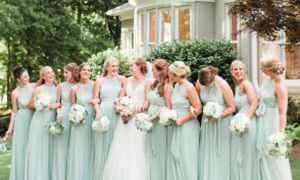 27 Beautiful Garden Wedding Bridesmaid Dresses