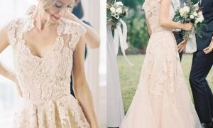 24 Lovely Garden Wedding Dresses