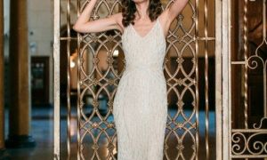 28 Lovely Gatsby Inspired Wedding Dress