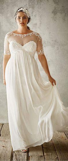 7c3b406e5a1dfd dfd9c3928e6 plus size wedding dress beach plus size wedding dresses with color