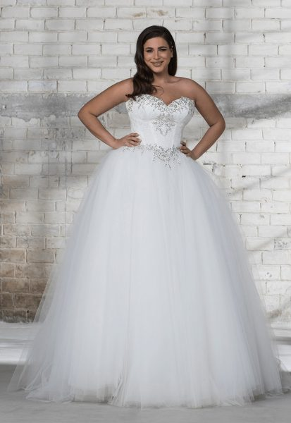 love by pnina tornai corset beaded bodice with tulle ball gown skirt wedding dress 413x600