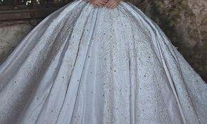 29 Elegant Glitter Wedding Dresses