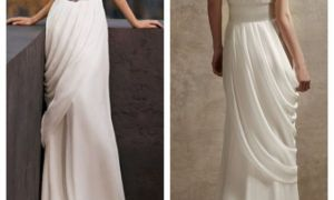 20 Lovely Goddess Style Wedding Dresses