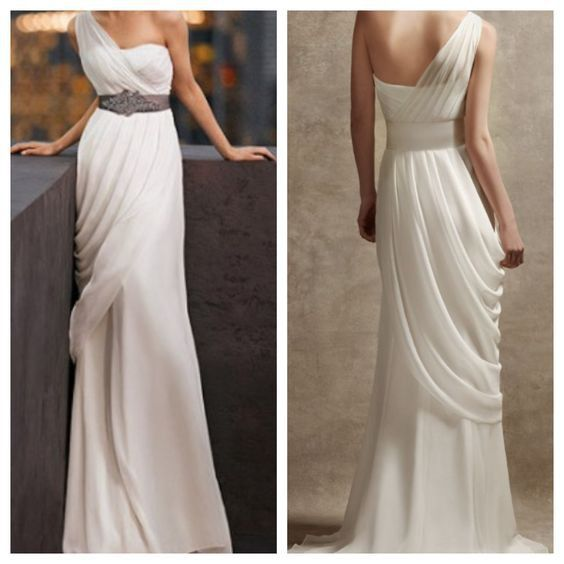 Goddess Style Wedding Dresses Unique Pin On Vera Wang Wedding Gown From Stillwhite Ly $625