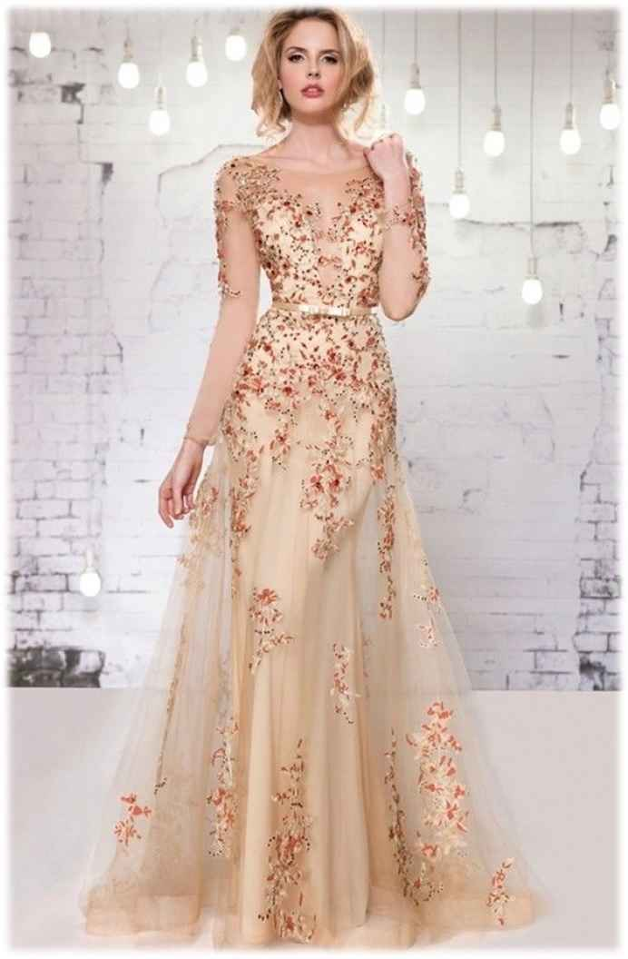 evening gowns with sleeves designer 2016 hot gold evening dresses