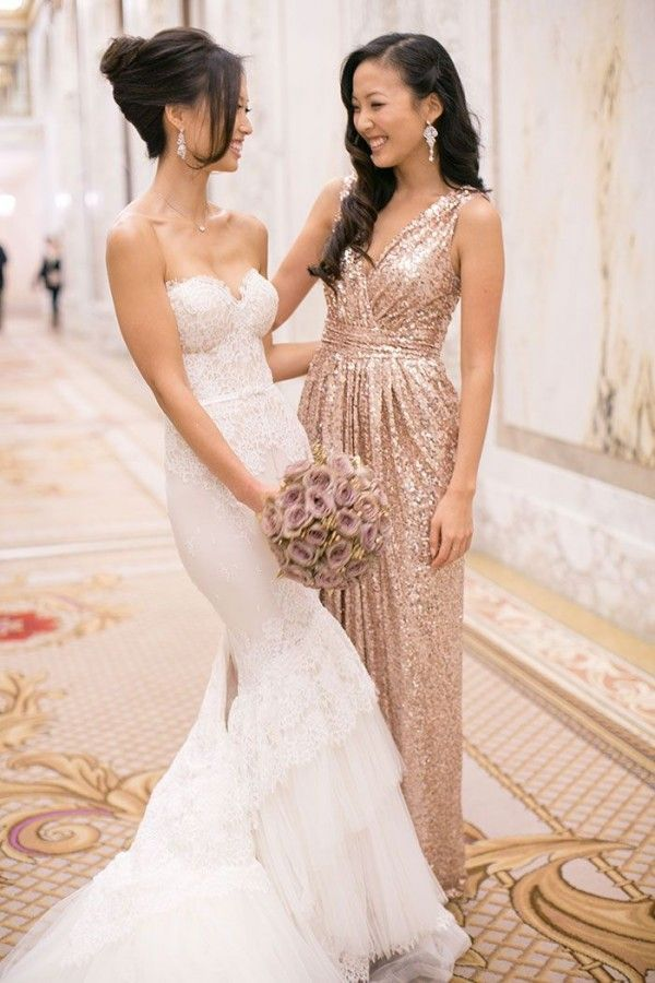 Gold Sequin Wedding Dresses Awesome Gold Sequin Wedding Gown Lovely Good Rose Gold Wedding Dress