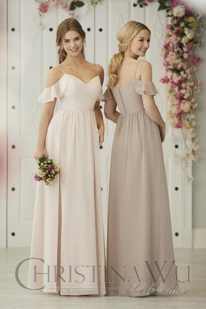 christina wu cold shoulder bridesmaid dress 01 663