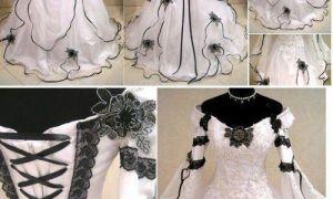 21 Luxury Gothic Wedding Dresses Plus Size