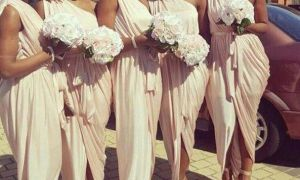 26 Inspirational Grecian Bridesmaid Dresses