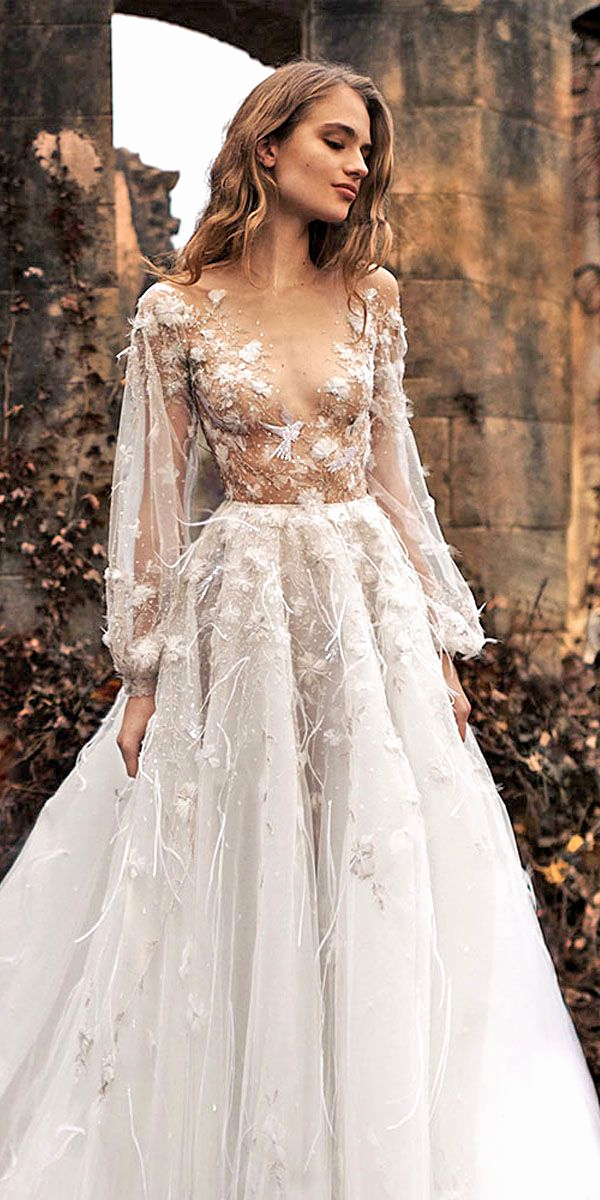 wedding gowns with sleeves pictures elegant different kinds wedding dresses beautiful i pinimg 1200x 89 0d 05
