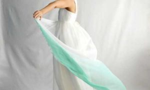 29 Lovely Green Wedding Gown