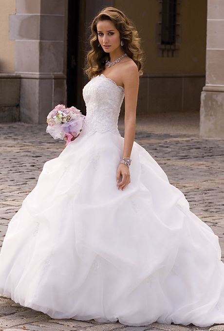 bf7716bb8165e1d a569e ballgown wedding dress strapless wedding dresses
