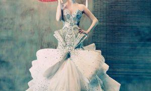 23 Lovely High Fashion Wedding Dress