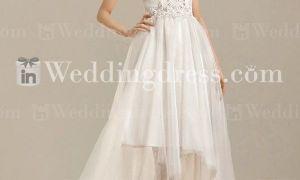22 Elegant High Low Beach Wedding Dresses