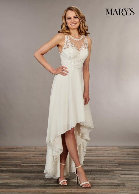 marys bridal mb1037 high low bridal dress 01 677