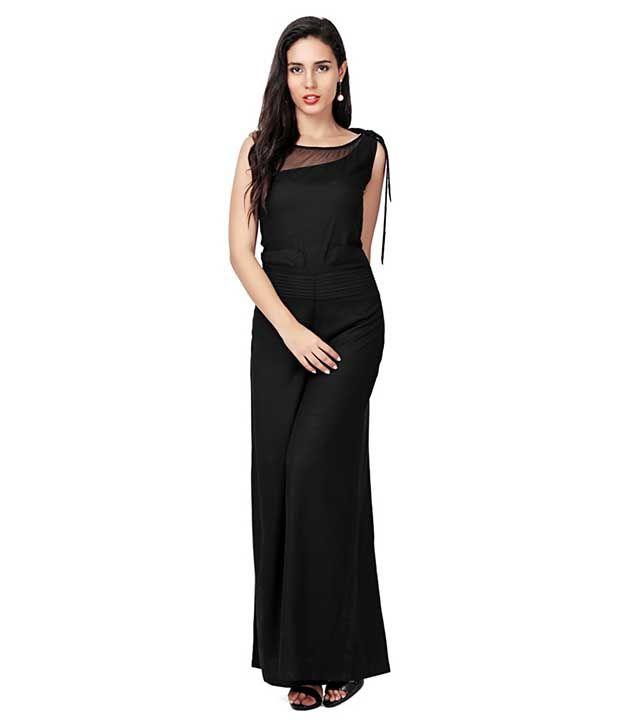 Shree Wow Black Rayon Dresses SDL 1 a2c72