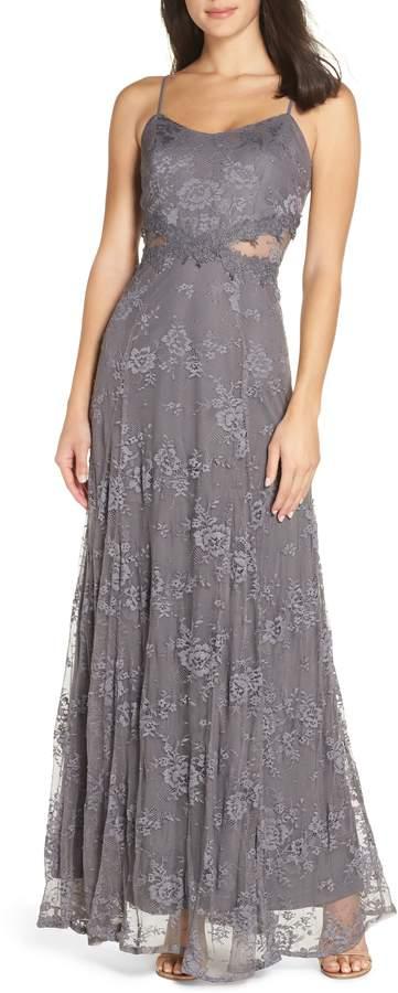 Hitherto Dresses Inspirational Elaina Handkerchief Bodice Gown