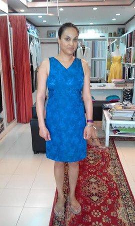 dress final fitting shyam