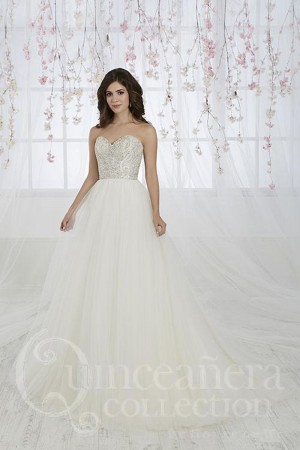 novia collection beaded top wedding gown 01 543
