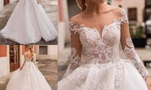 20 Elegant Illusion Bridal Gowns