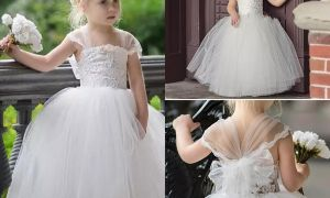 24 Elegant Infant Wedding Dresses