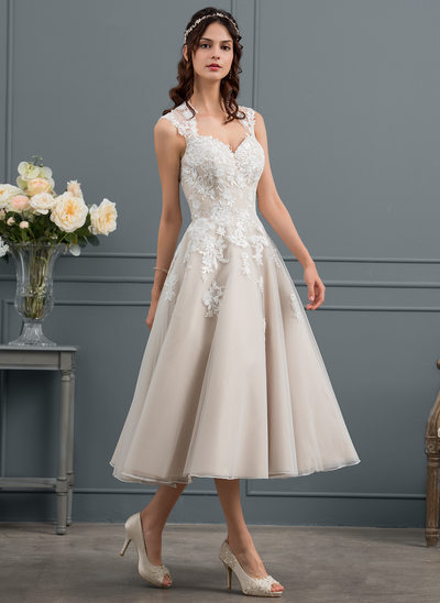 Informal Wedding Dress Tea Length Lovely Tea Length Wedding Dresses All Sizes & Styles