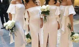 24 New Ivory Brides Maid Dresses