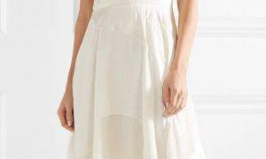 20 Luxury Ivory Silk Dress