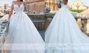 25 Lovely Ivory Wedding Gown