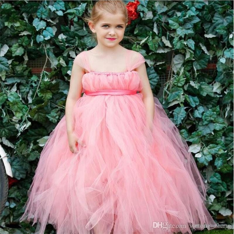 real flower girl dresses sashes ball gown