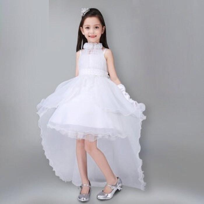 princess kids pageant flower girl dress girls