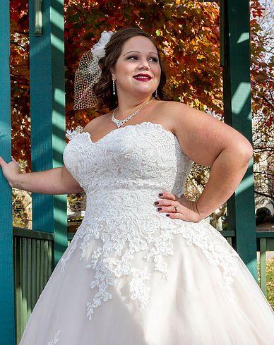 Kleinfeld Plus Size Wedding Dresses Lovely Plus Size Designer Wedding Gowns Best Dina Davos for